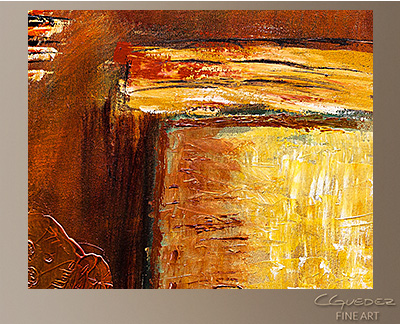 Milenio Modern Abstract Art Painting -Wall Art Close Up