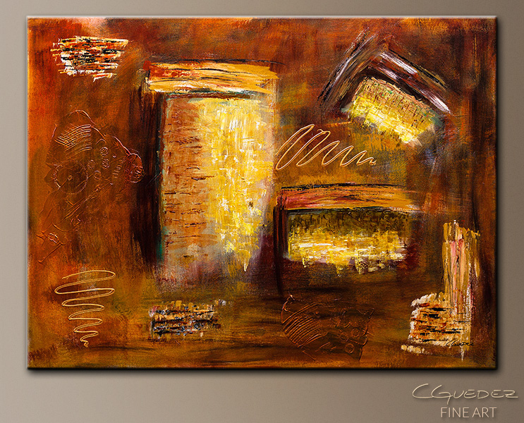 Milenio - Abstract Art Painting Image by Carmen Guedez