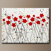 Original Abstract Art Paintings - Mis Amores - Art Gallery