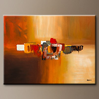 Abstract Art Painting - Moda