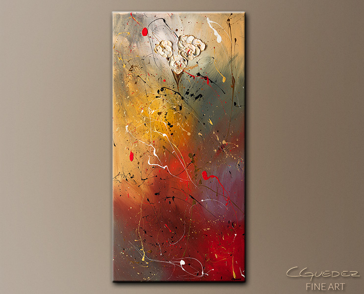 Morning Light - Abstract Art Painting Image by Carmen Guedez