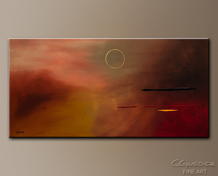 Moving Forward - Abstract Art Painting Image by Carmen Guedez