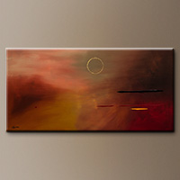 Minimalist Abstract Art Painting - Moving Forward - Canvas Painting