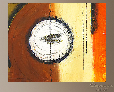 My Orchestra Modern Abstract Art Painting -Wall Art Close Up