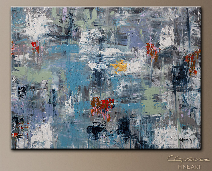 New Directions - Abstract Art Painting Image by Carmen Guedez