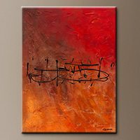 Music Wall Art Painting - Nocturne - Contemporary Art