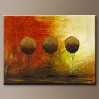 Abstract Art for Sale - Once Upon a Time - Modern Art
