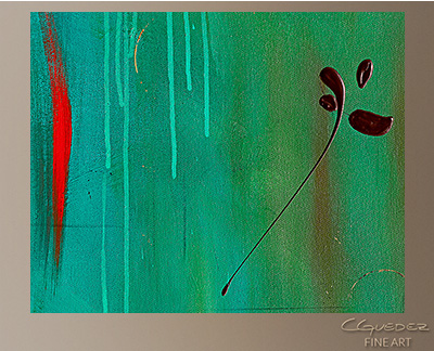 One and Only Modern Abstract Art Painting -Wall Art Close Up