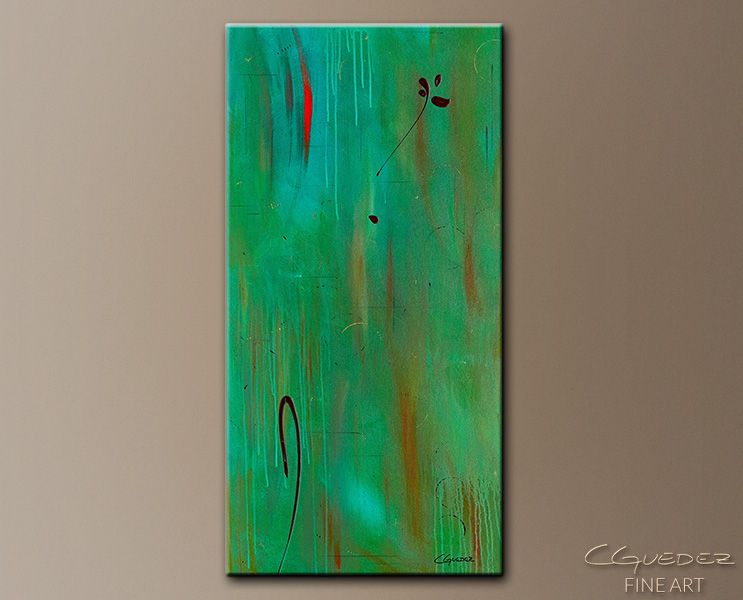 One and Only - Abstract Art Painting Image by Carmen Guedez