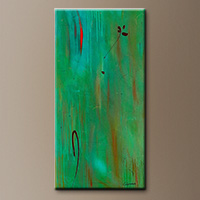 Abstract Painting on Canvas - One and Only - Canvas Painting