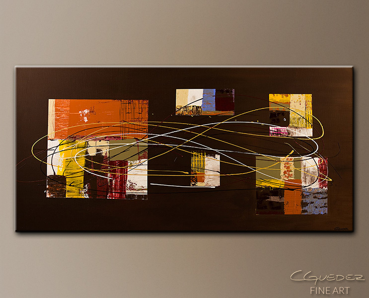 Opulent Whisper - Abstract Art Painting Image by Carmen Guedez
