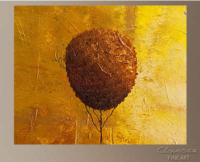 Otono Modern Abstract Art Painting -Wall Art Close Up