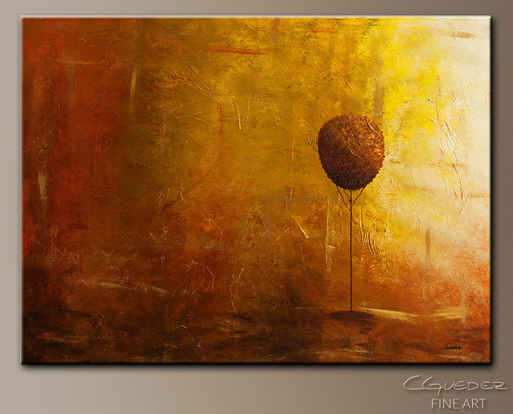 Otoño - Lansdape Abstract Painting