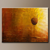 Abstract Art Painting Otoño - Art Canvas