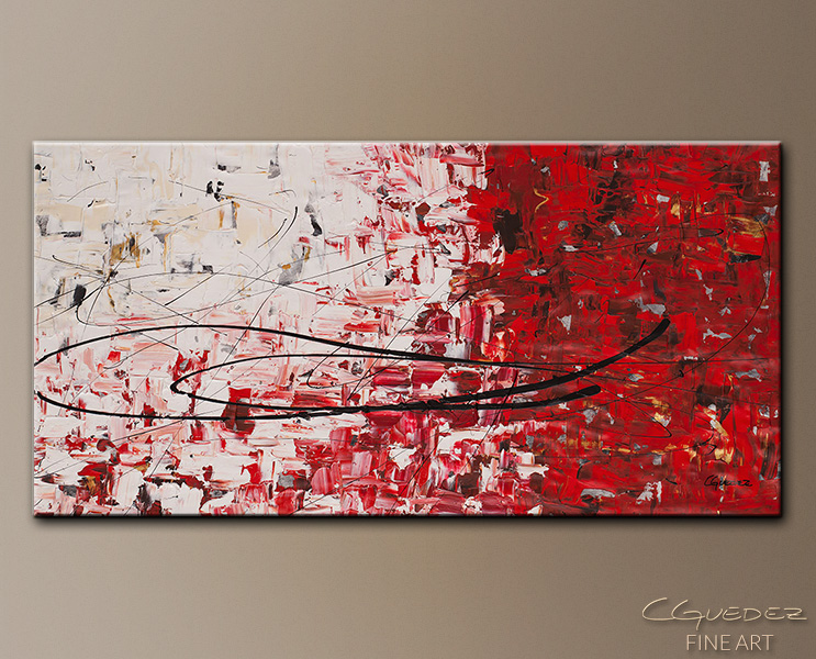 Out of Sight - Abstract Art Painting Image by Carmen Guedez