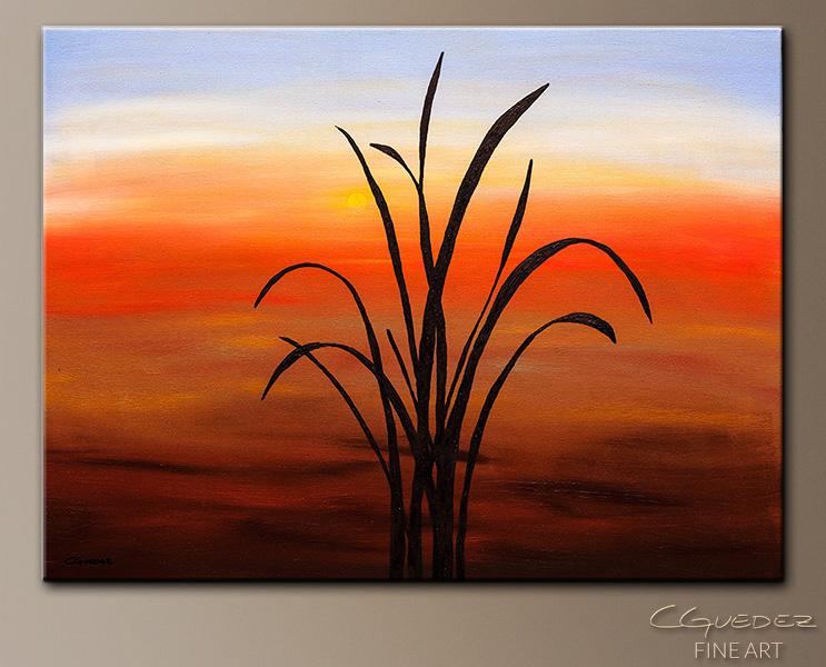 Coastal Abstract Art Painting