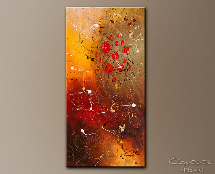 Passione - Abstract Art Painting Image by Carmen Guedez
