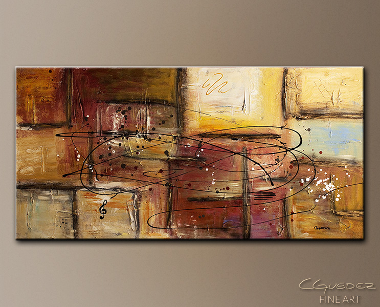 Path to Heaven - Abstract Art Painting Image by Carmen Guedez