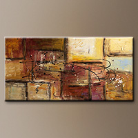 Modern Abstract Art Painting - Path to Heaven - Art Gallery