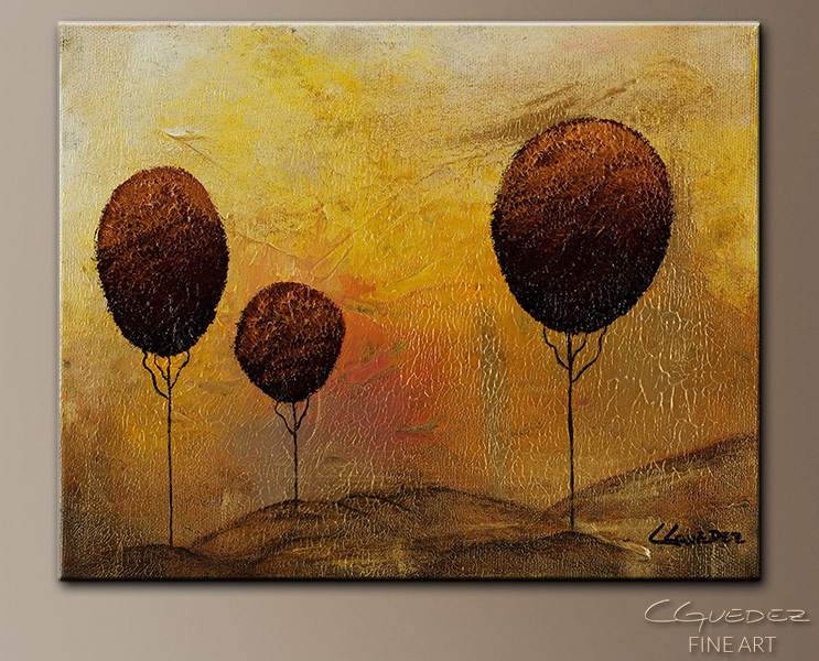 Peace and Love - Abstract Art Painting Image by Carmen Guedez