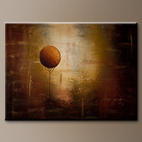 Abstract Art Painting - Prosperity - Art Canvas