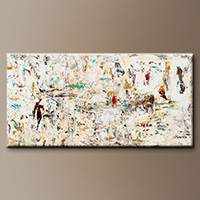 Abstract Wall Art Paintings - Quest