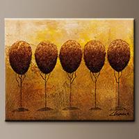 Abstract Art - Quintuplets - Wall Art