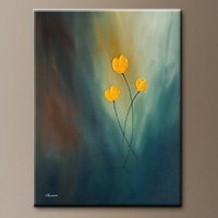 Abstract Art Painting - Rays of hope - Modern Art