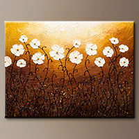 Modern Original Art Paintings - Rays of Life - Wall Art