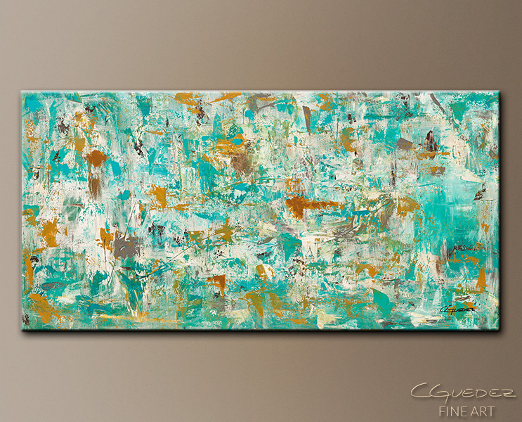 Abstract Art Painting - Reach for the Sky