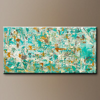Abstract Art Painting - Reach for the Sky - Original Art