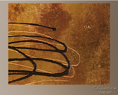 Reflexion Modern Abstract Art Painting -Wall Art Close Up