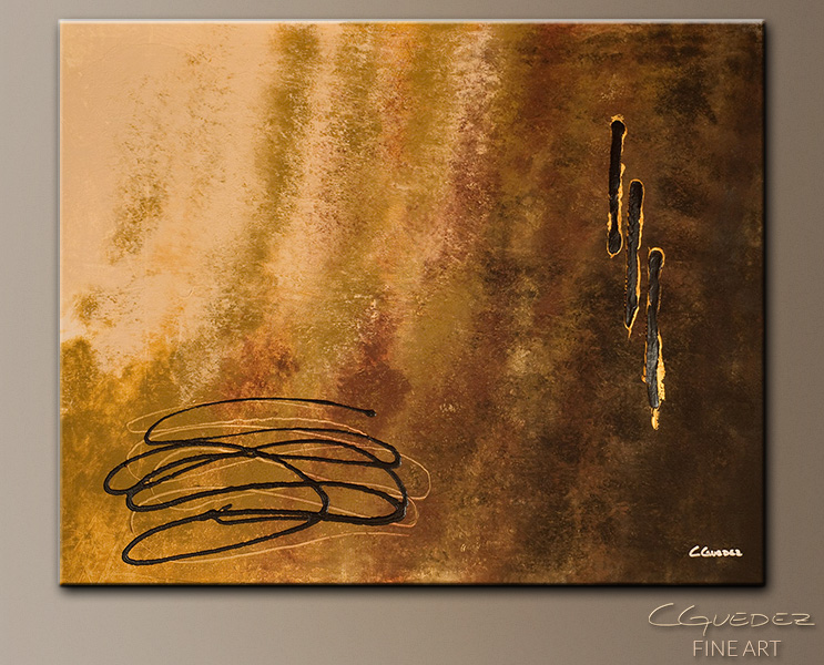 Reflexion - Abstract Art Painting Image by Carmen Guedez