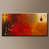 Requiem-Flowers Art Gallery-Abstract Art Paintings Image