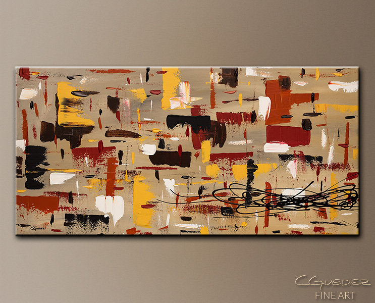 Sense of Harmony - Abstract Art Painting Image by Carmen Guedez