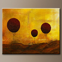 Abstract Painting for Sale - Side to Side - Original Painting