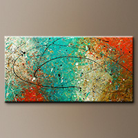 Large Abstract Wall Art - Sight to Behold - Original Painting