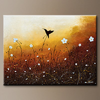 Landscape Art Painting - Small Treasure - Canvas Painting