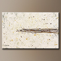 Original Hand-Made Canvas Art - Speed Light - Contemporary Art