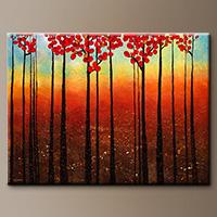 Original Landscape Canvas Painting - Spring Ahead - Large Art