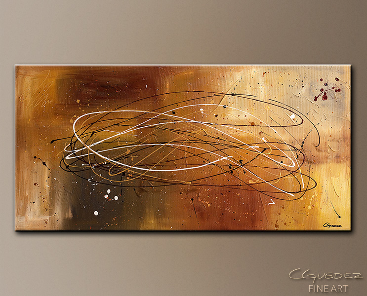 Success - Abstract Art Painting Image by Carmen Guedez