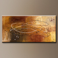 Large Modern Abstract Art Painting - Success - Art Gallery