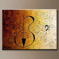 Suite No. 1-Music Art Gallery-Abstract Art Paintings Image