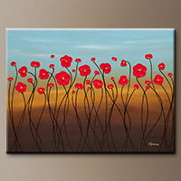 Canvas Art Painting - Summer Day - Art Gallery