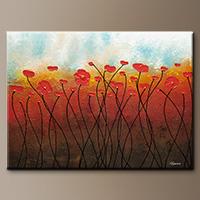 Abstract Art - Sweet Breeze - Art Canvas