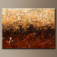 Contemporary Wall Art - Symphony - Canvas Painting