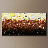 Large Abstract Art - Terra Matter - Canvas Painting