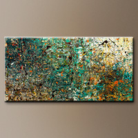 Large Abstract Art Painting - The Abstract Concept - Art Canvas