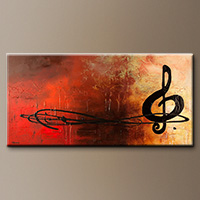 Abstract Art Painting - The Pause - Original Painting