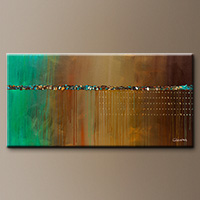Wall Art Painting - The Voyage - Modern Art